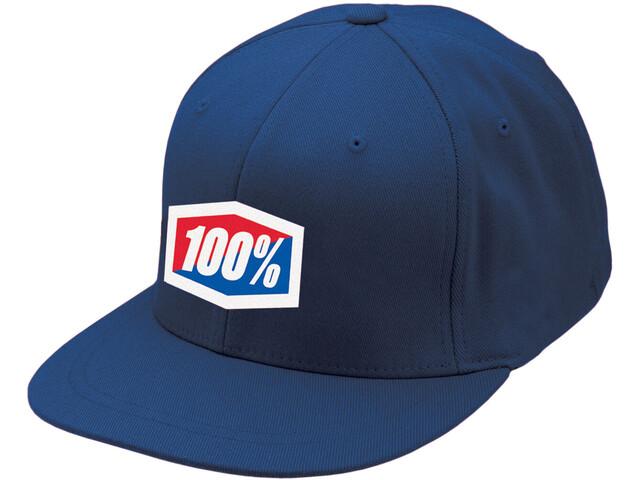 100% Essential J-Fit Cap, blue